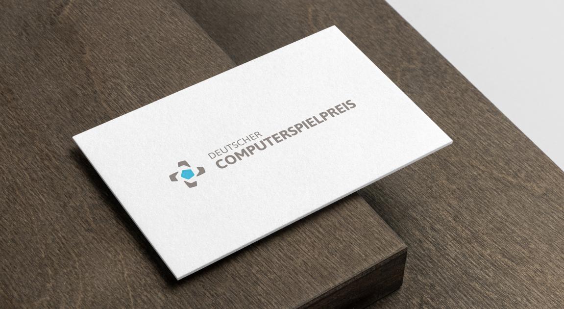 Business Card - German computer games award