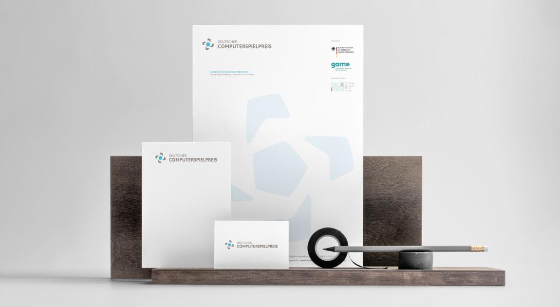 Business Stationary - German computer games award