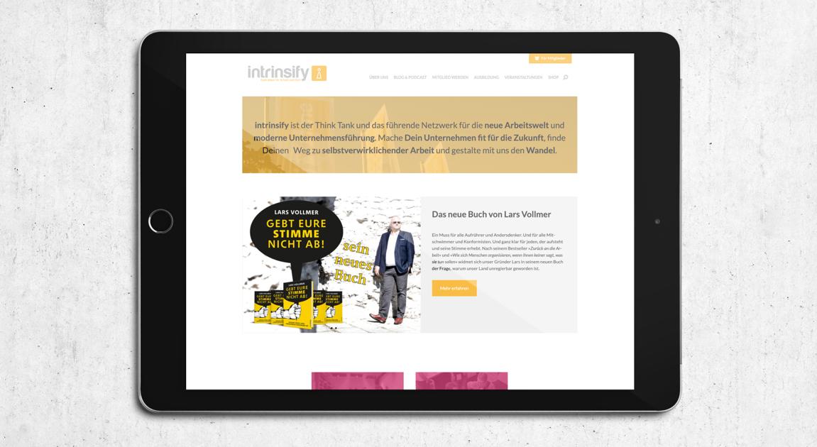 Web ipad - intrinsify