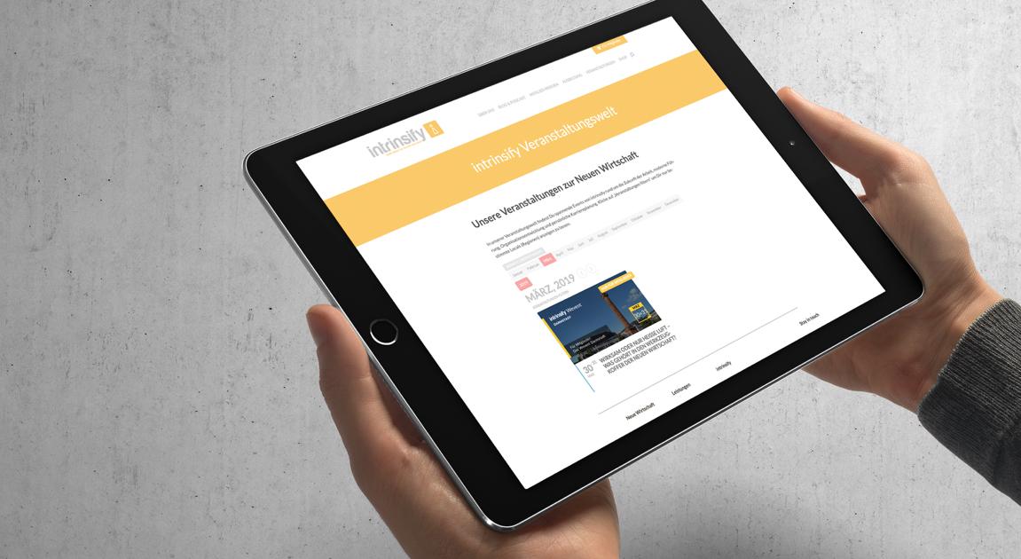 Web ipad 2 - intrinsify