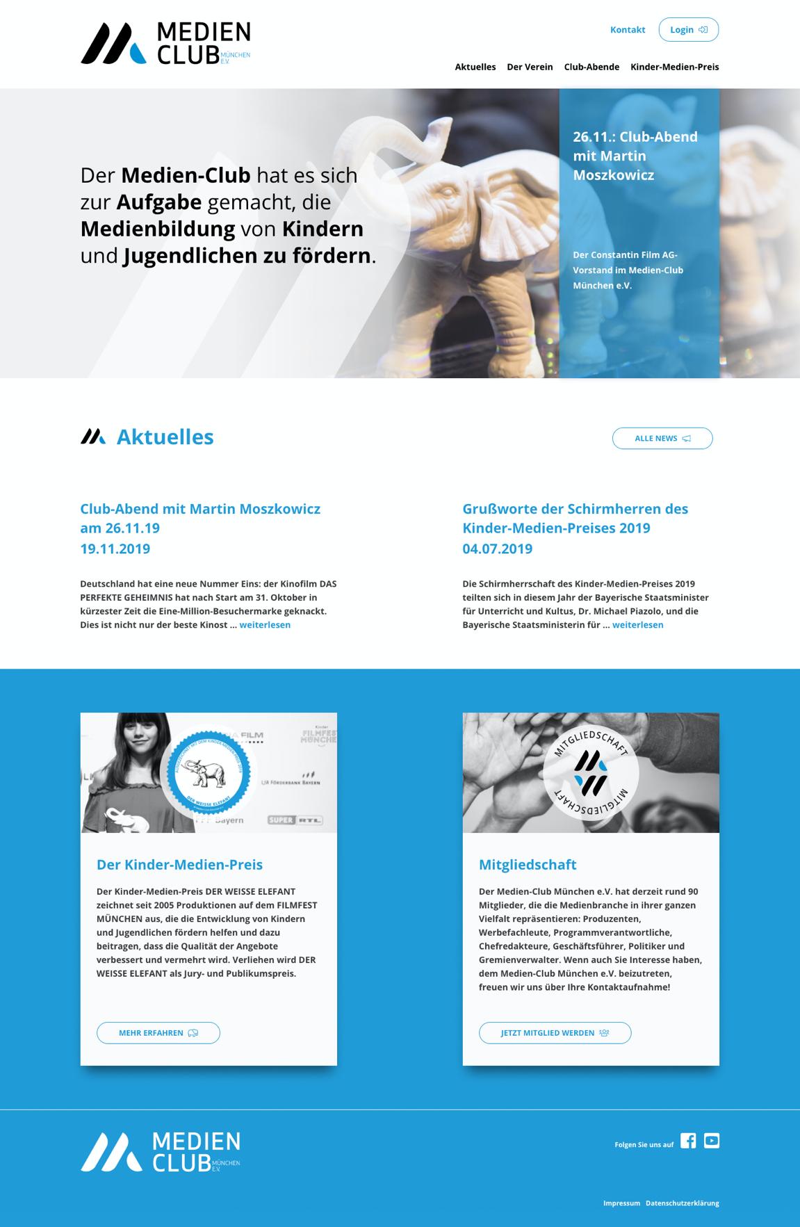 Website - Medien-Club München